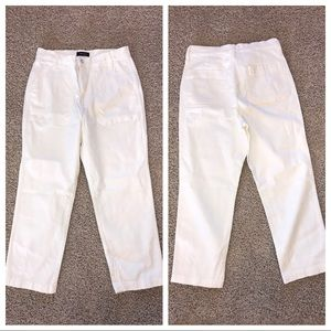J Crew Straight Leg Crop Jean Garment Dyed Size 29